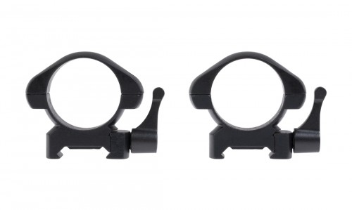 MID RINGS QUICK RELEASE 30MM STEEL STINGER