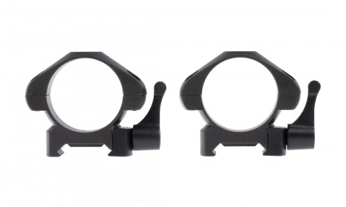 SHORT RINGS QUICK RELEASE 4 SCREWS 30MM STEEL STINGER