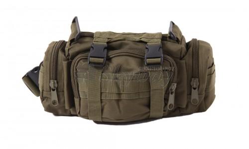BELT/SHOULDER STRAP BAG MULTIPURPOSE OD DELTA TACTICS