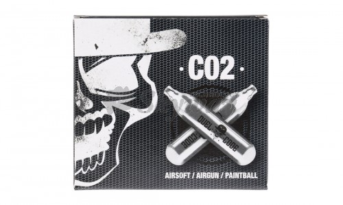 DUEL CODE 12GR CO2 CARTRIDGES 24X5 PCS