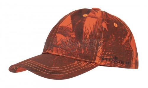 HUNTING CAP CAMO ORANGE STINGER