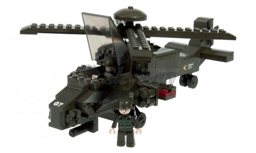 HIND HELICOPTER 199 PCS SLUBAN