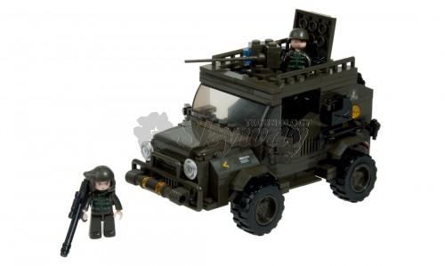 ARMY JEEP 221 PCS SLUBAN