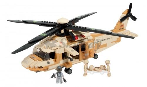 BLACK HAWK HELICOPTER 439 PCS SLUBAN