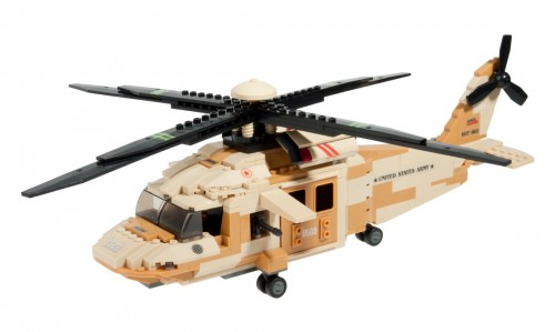HELICOPTERO BLACK HAWK 439 PCS SLUBAN
